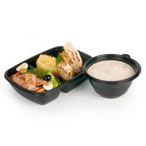 Обед с крем супом